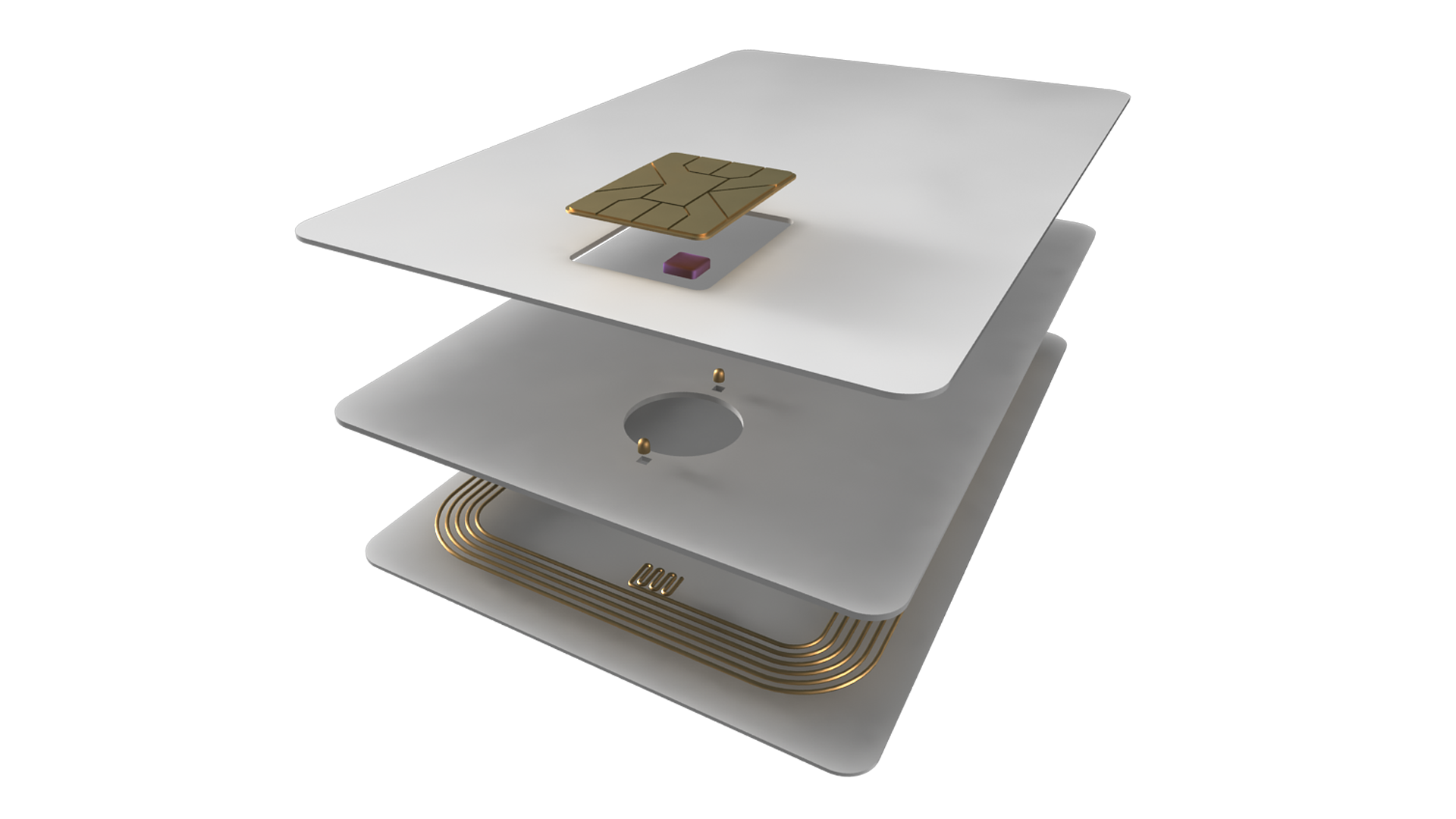 Dual Interface Card – PrintPlast   World's Most Sustainable RFID Cards