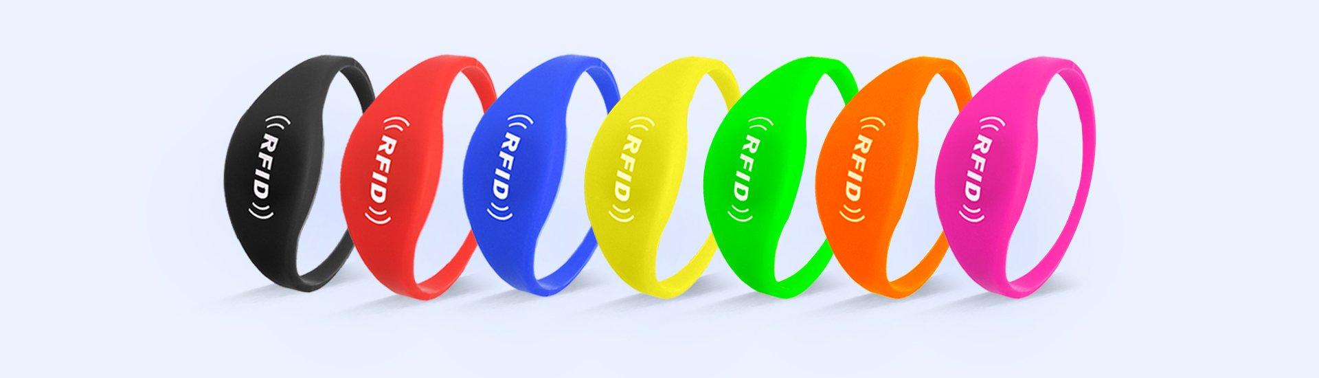 renkli silikon bileklikler